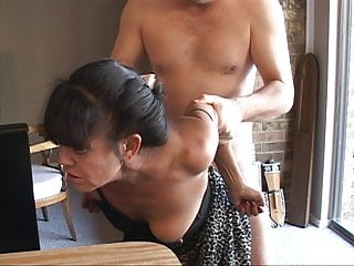 I Turned My Tiny Mexican Granny Live-in lover Into an Anal Slave