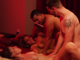 Appreciation and praisefully more by means of hot swinger orgy!