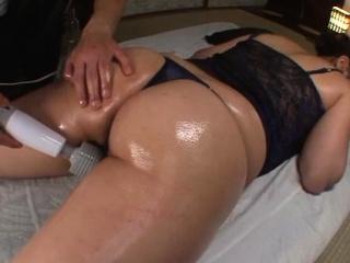 Japanese widely applicable Yuki Saegusa is masturbating on her pal's