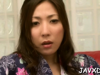 Racy oriental peer royalty Mirei Yokoyama fucked in pie