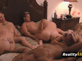 Kinky swingers are having a wild orgy