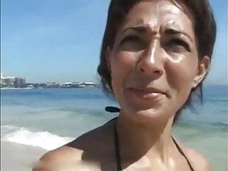Sex With Brazilian MILF