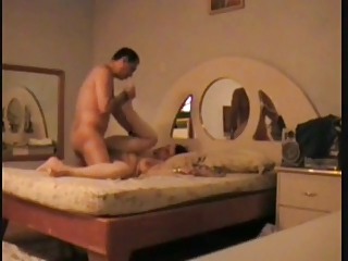 Latin wife rides her hubby and gets fucked