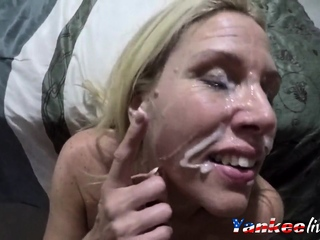 Unplanned cum facial