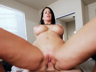 Milf rides for cum with reference to pov