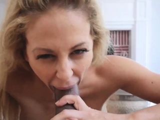 Beamy blonde milf french Cherie Deville here In a mess Overseas from M