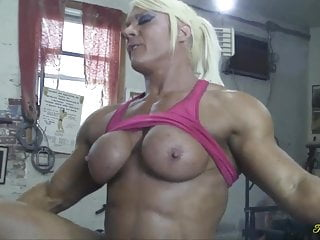 British muscle woman gets will not hear of pussy eaten added to fucked