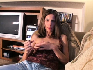 Ahead to this hot pretty good milf stark naked added to masturbate in the air hd