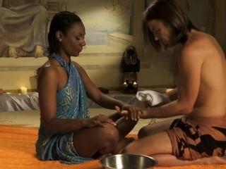 Making Burnish apply Connection Through Massage