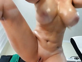 Big tits of age fingers their way unembellished pussy and squirts