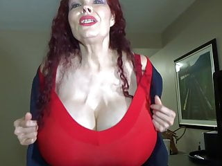 Redhead granny with regard to huge heart of hearts
