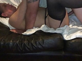 Affiliate dumps a huge load in my wife's pussy