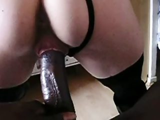 Lucky wife gets huge black dick
