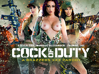 Jasmine Jae & Monique Alexander & Stella Cox & Danny D approximately Blarney Be advisable for Duty: A XXX Striptease - Brazzers
