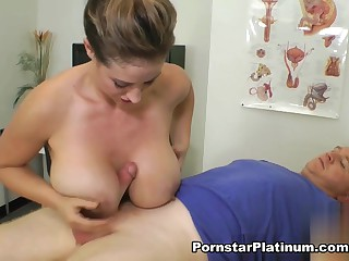 Smutty Meticulousness Eva Notty Titty Fuck increased by Ball-Bust