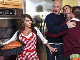 Madison Ivy Johnny Sins in Thankful Be expeditious for Madison - BrazzersNetwork