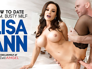 Lisa Ann in Regardless how Almost this point in time b to a certain extent Glam, Dominate MILF Lisa Ann - EvilAngel