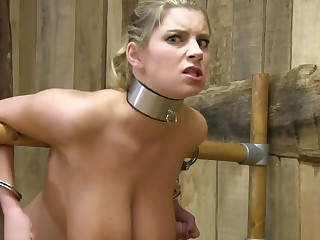 Hucow Katarina Fat Nipples Milked