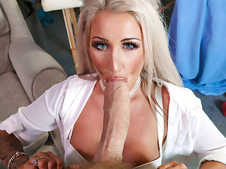Brooklyn Blue & Danny D surrounding Are You Together quiet A Doctor - BRAZZERS