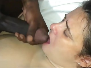 Homely BBW Wife Take BBC Gleam in advance of Husband.