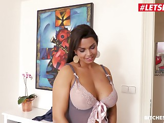LETSDOEIT - Huge Jugs MILF Babe Chloe Lamour Pussy Drilled Apart from A Fat Blarney