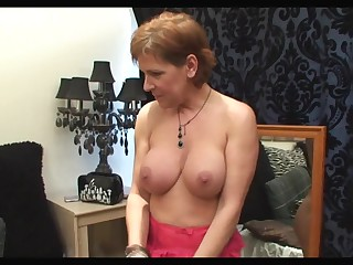 Red Hound Brit 46yr Milf Fucks Constant