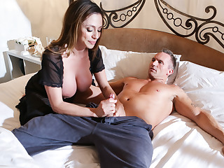 Ariella Ferrera & Marcus London in Mom With the addition of Dad Settle Their Daughters Dispute - SweetSinner