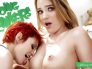 Bree Daniels & Kenna James in the air Going Bonkers: Fixing One - GirlsWay