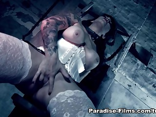 Daisy Rock & Luke Hotrod & Antonio Sulky in I Dearth Two Cocks - Paradise-Films