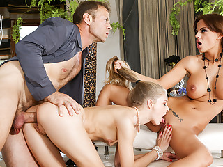Swarthy Angelica, Cayenne Klein, Rocco Siffredi regarding Girls Vs Milfs #02, Chapter #03
