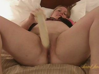 Misty Luv Blu in Toys Film over - AuntJudys