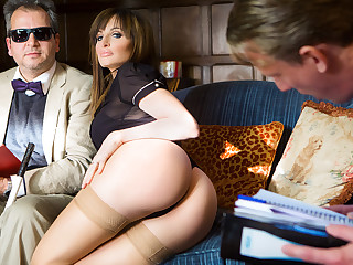 Ava Courcelles, Luke Nervy in The Undiscriminating Professor - DigitalPlayground