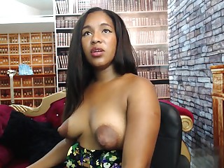 Sherezade's famous puffy lactating nipples