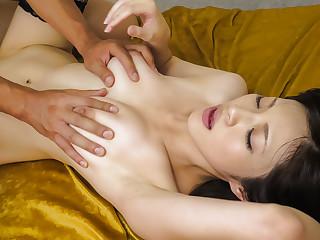 Amazing Japanese girl Sara Yurikawa on touching Hottest JAV uncensored MILFs coupler