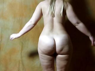 Jiggly Ass Strip Sarah BB
