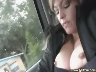 Squirting In The Back Seat