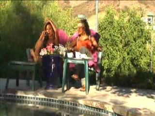 MILF abusing the pool boy