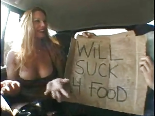 ROUGH FUCK #4 (Blonde MILF Used in the Van)