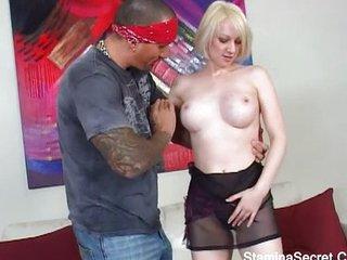 Big tits MILF fucked hard and creamed