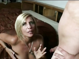 HOT MOM n132 blonde granny mature milf with young man