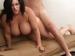 Curvy Mom with Hot Jugs Fucked at the end of one's tether TROC