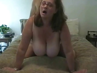Chubby Teat Mature Tie the knot Nailed