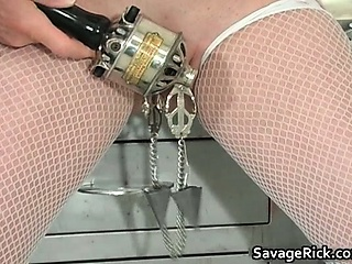 Dirty palmy MILF Erica gets tied part5