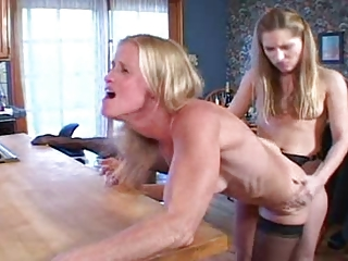 Aged MILFs & Young Lesbians - Nautical galley Sew On