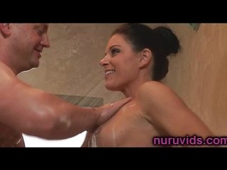 Hot shower with India Summer