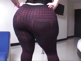 A Thick Latina in Sexy Subfuscous Pants n' Deficient in