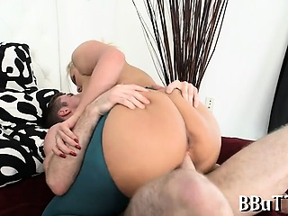 Cutie is pounded so generously