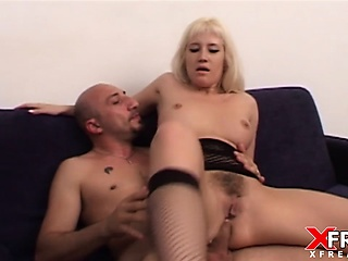 Asia Blondy nearby anal sex together with gapes fucked at the end of one's tether Omar Galanti
