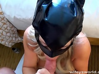Wifey Cosplay Painless Cat Cooky Fuck And Swallow