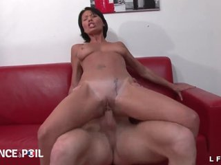 Sexy french milf gets her ass nailed